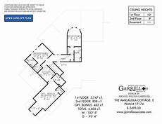 amicalola house plan amicalola cottage e 17174 garrell associates inc