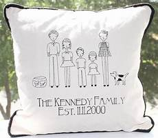 family portrait personalized pillow cover 16 16