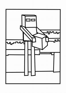 a minecraft enderman coloring page minecraft coloring