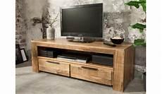 meuble tv en bois massif 130 cm pour salon