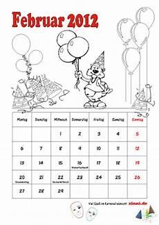 Kinder Malvorlagen Kalender Malvorlagen Zum Ausmalen Kalender Zum Ausmalen Februar 2012