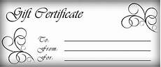 downloadable gift card templates gift certificates templates free printable gift