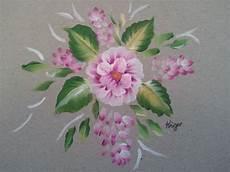 one stroke painting blumen malerei pflanzen