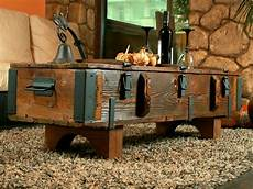 Travel Trunk Coffee Table Cottage Steamer Trunk Pine