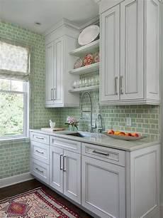 Green Kitchen Backsplash Green Backsplash Houzz