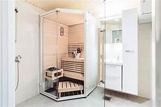 Space Saving Saunas For A Wooden Apartment Building Harvia