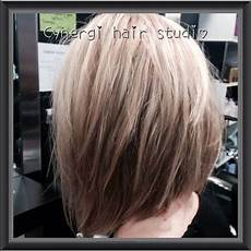 textured concave bob soft medium length style the lob cynergi hair studio dalby