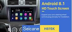 in dash radio 9 inch hd 1024 600 touchscreen android 8 1 for 2008 2009 2010 2011 2015 mazda 6