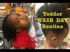 military my 2 yr old s wash day expierence wash routine youtube