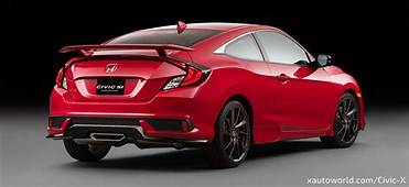 2017 Civic Si Unveiled  Specs Video And HD Photo Gallery