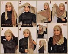 Gambar Cara Memakai Jilbab Modis Oktavianasiwi