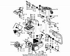 Poulan 2300cva Gas Saw Parts Diagram For Handles Housing