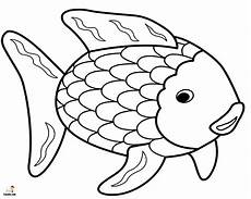 free printable rainbow fish coloring pages funsoke
