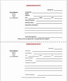 donation receipt templates 15 free printable templates