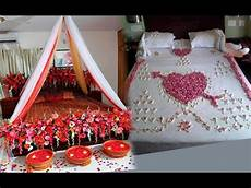 wedding bedroom decoration ideas wedding bedroom decoration with flowers youtube