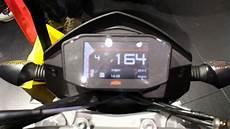 ktm duke 690 v new tft display eicma mailand