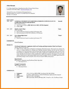 8 cv sle for fresh graduate doc theorynpractice