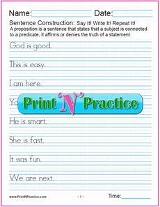 writing sentences worksheets 4th grade 22098 fourth grade worksheets practice for