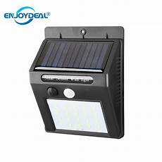 20 led waterproof solar power pir motion sensor wall light