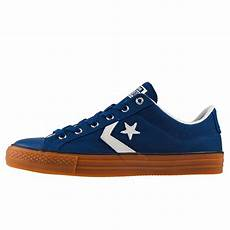 converse player ox 159742c mens trainers in navy gum
