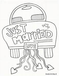 Free Printable Wedding Coloring Books Wedding Coloring Pages Doodle Alley