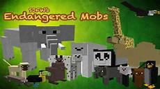 minecraft mod animaux minecraft mods endangered mobs mod 15 new animals ride
