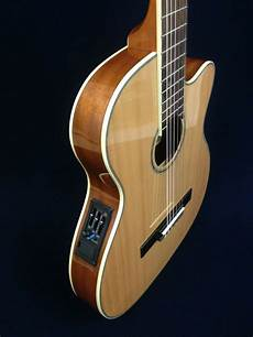 best thin acoustic guitar caraya c 551bceq n thin classical acoustic electric guitar gig bag ebay