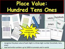 place value hundreds tens ones units teacher notes