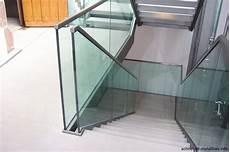 Treppengeländer Innen Glas - schneider metallbau innengel 228 nder aus glas und stahl