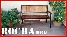 Banco De Hierro Y Madera Diresta Steel Wood Bench