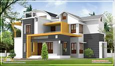 kerala contemporary house plans modern contemporary kerala home design 2270 sq ft