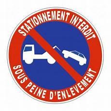 autocollant interdiction de stationner sticker interdiction de stationnement parking etiquette autocollant
