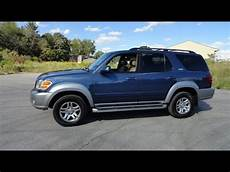 how cars engines work 2002 toyota sequoia navigation system 2004 toyota sequoia 4wd sr5 tour walk around review start up youtube