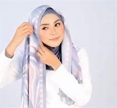 Tutorial Untuk Wajah Bulat Yang Simple Ragam Muslim