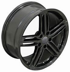 18x8 wheels fit audi volkswagen audi rs6 style black