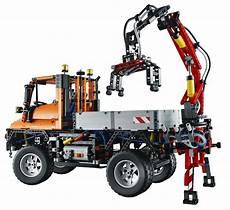 mercedes unimog inspires lego technic model