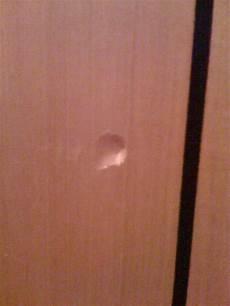 Comment Reparer Ma Porte S 233 Duisant Reboucher Un Trou Dans