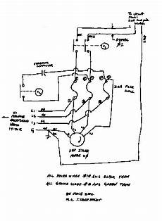 phase converter wiring diagram how to build an auto start rotary three phase converter metalwebnews