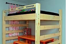 Bett Bauen Einfach - easy build loft bed plans pdf woodworking