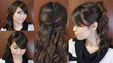 casual friday easy hairstyles for medium hair tutorial youtube