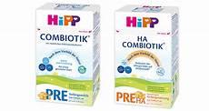 pre nahrung stiftung warentest testergebnisse zu den hipp milchnahrungen hipp