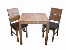 Tisch Und Stühle Günstig - tischgruppe set tisch 2 st 252 hle aus eiche massiv ge 246 lt pu