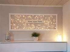 ideen bilderrahmen dekorieren lichter im bilderrahmen willkommensschild m 246 bel accessoires diy ベッドルーム オルチャン 部屋 und