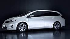 The Toyota Auris Hybrid Touring Sports 2013