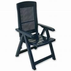 garten hochlehner klappstuhl kunststoff sessel stuhl blau