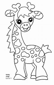 baby jungle animals coloring pages 17044 free printable giraffe coloring pages for giraffe coloring pages zoo animal coloring