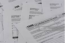 united states internal revenue tax return forms high res getty images