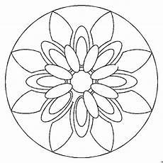 Malvorlagen Cd Mandala Blumenblaetter Ausmalbild Malvorlage Mandalas