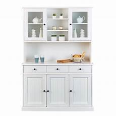 credenza per cucina credenza con vetrinetta classica in legno massello di pino