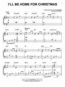 walter kent i ll be home for christmas piano sheetmusicdirect com